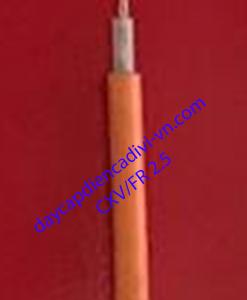 cáp chống cháy cadivi CXV/FR 2.5