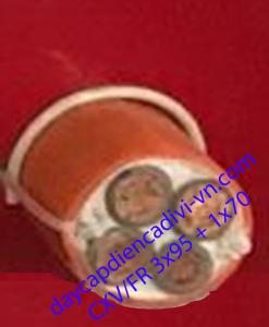 cáp chống cháy CXV/FR 3x95+1x70 cadivi