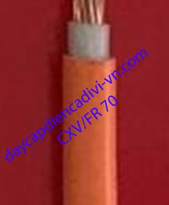 Cáp chống cháy cadivi CXV/FR 70